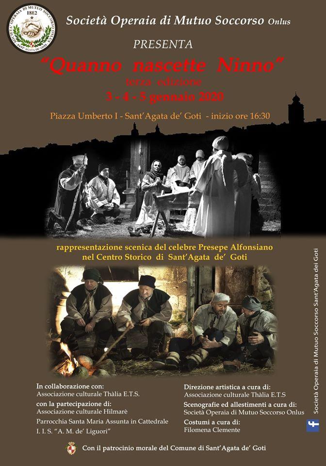 """Sant'Agata de' Goti: terzo appuntamento con il """"Presepe Alfonsiano"""""""