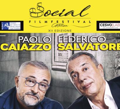 Al Social Film Festival la comicità di Caiazzo e Salvatore