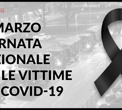 Giornata Nazionale per le vittime del Covid-19